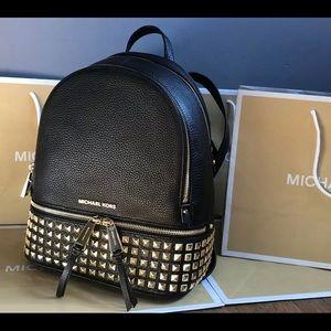 $358 Michael Kors Rhea Backpack Handbag MK Bag